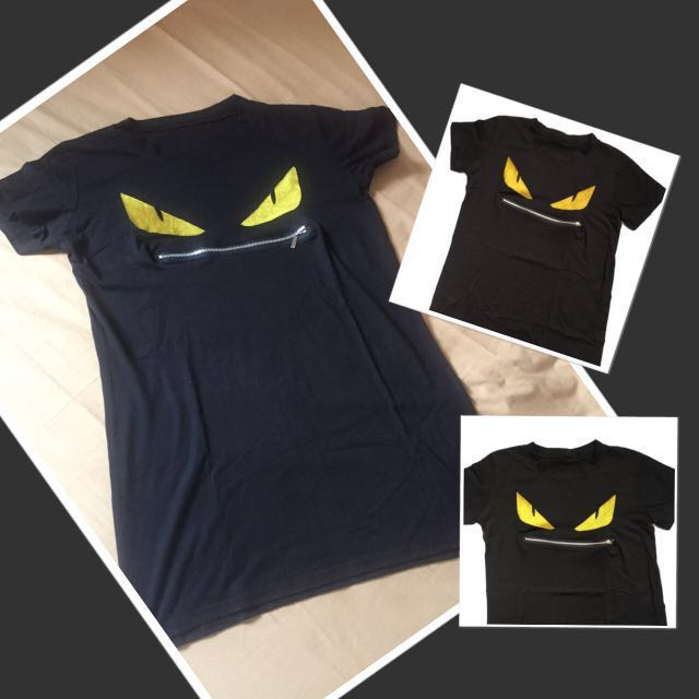FENDY Monster ShirtDress