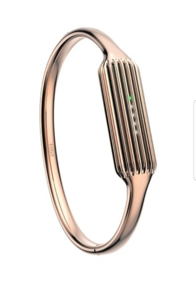 fit bit flex 2 accessory rose gold