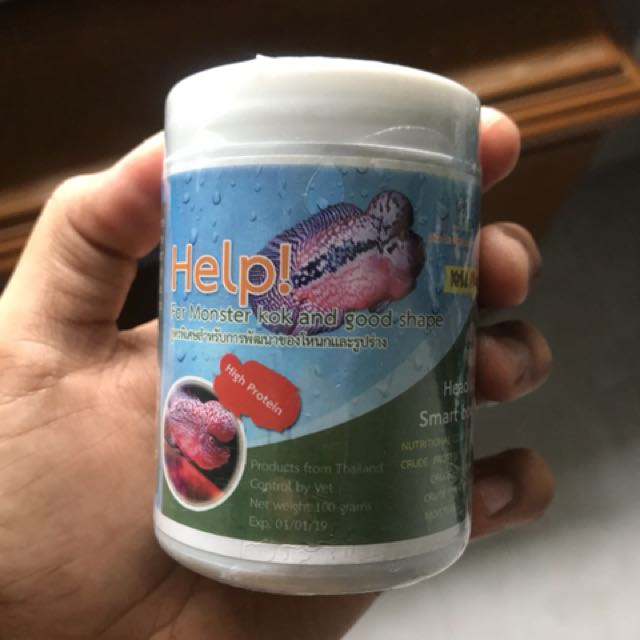Flowerhorn Food Pet Supplies On Carousell