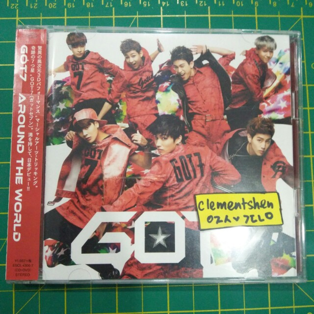 GOT7 Around The World 1st Japanese Single Limited Edition A Album ONLY