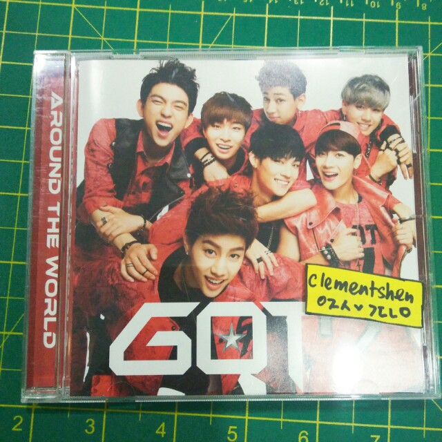 GOT7 Around The World Japanese Single Regular Edition ALBUM ONLY