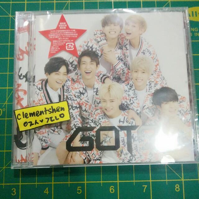 GOT7 Laugh Laugh Laugh Japanese Single Album ONLY Regular Version