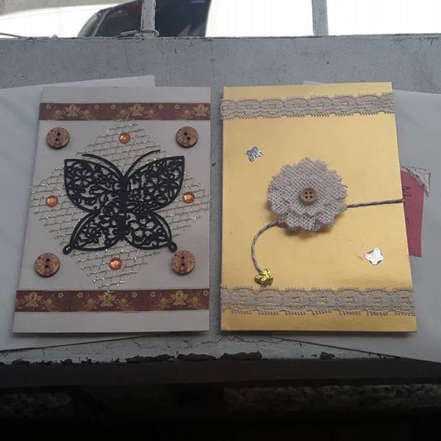 Handmade Custom Greeting Card