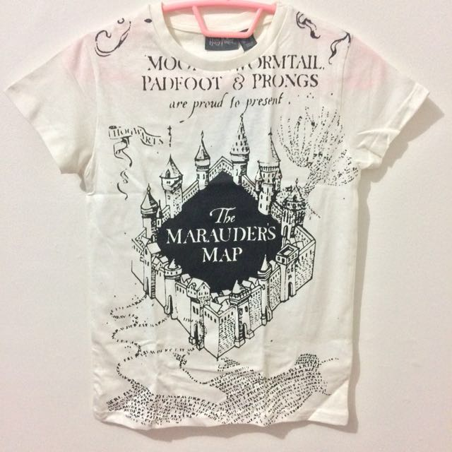 Harry Potter Official Marauder's Map T-Shirt