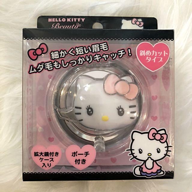Hello kitty 日本 卡通 可愛 美妝 鑷子 夾子 小物