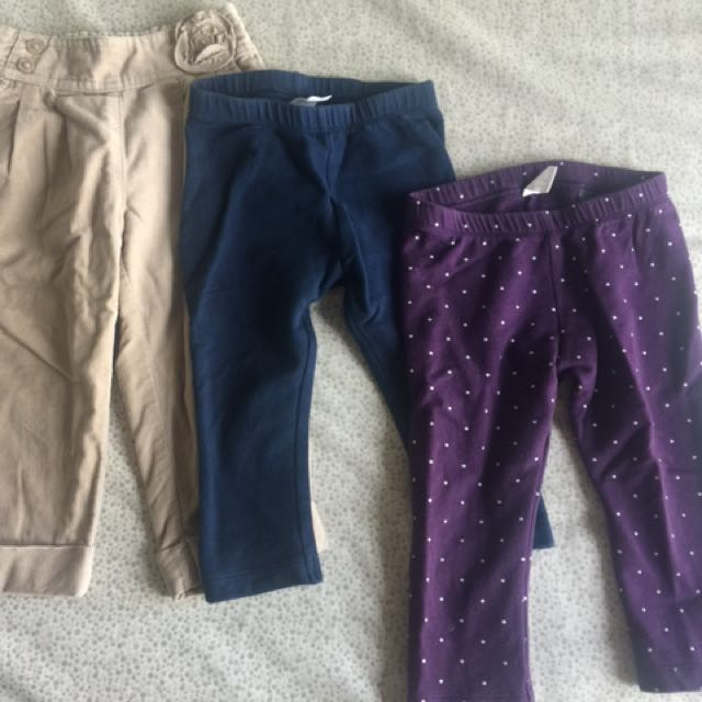 H&M, Mothercare Bottoms