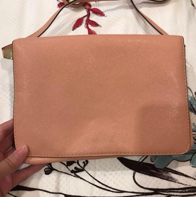 H&M pink bag