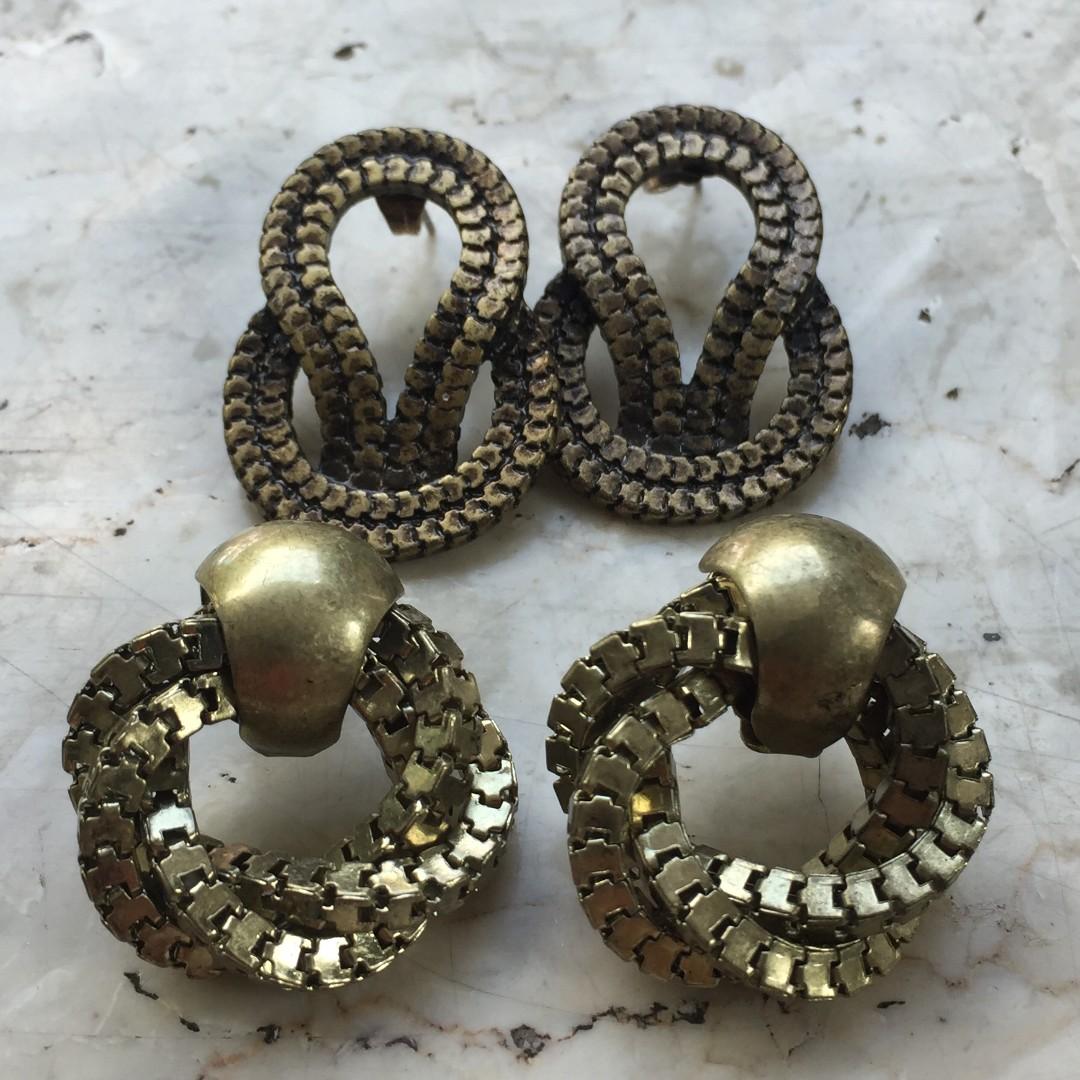 H&M Round earrings bundle