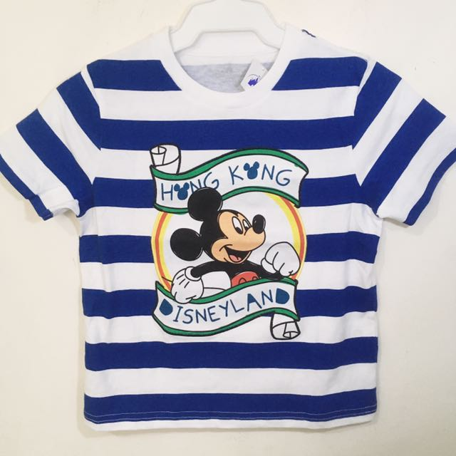 Hong Kong Disneyland Mickey Mouse T-Shirt