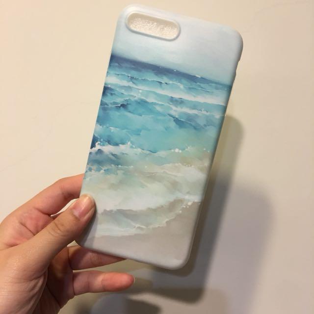 全新➿夏日海洋I7+/I8+手機殼