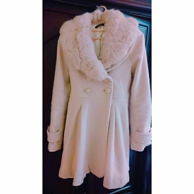 INGNI粉色大衣外套