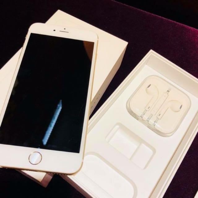 二手iphone6 plus 64g 金色