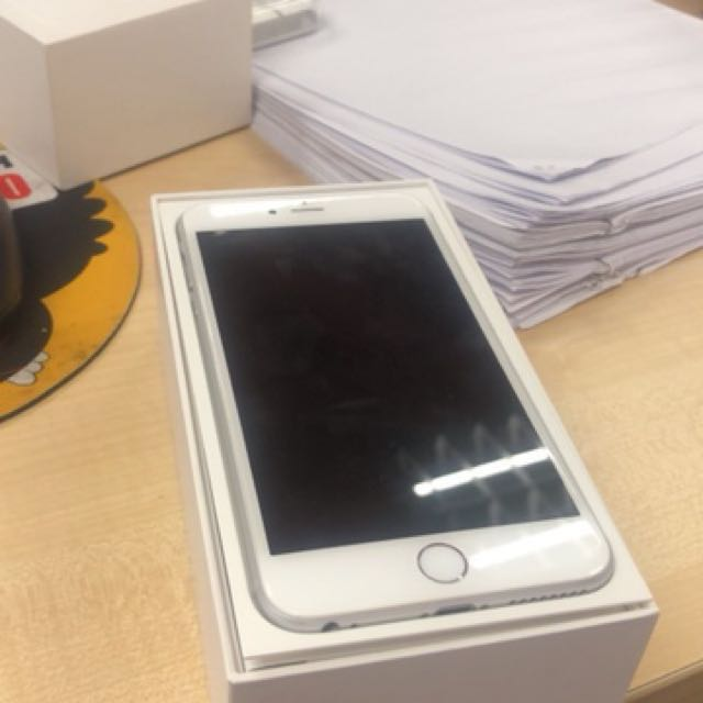 Iphone 6 plus 64gb silver replacement set