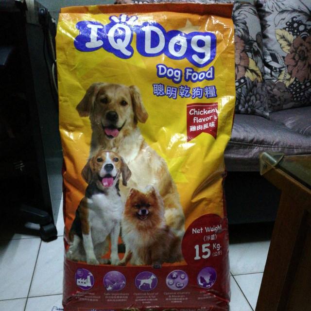 IQ Dog Dog Food 聪明干狗粮