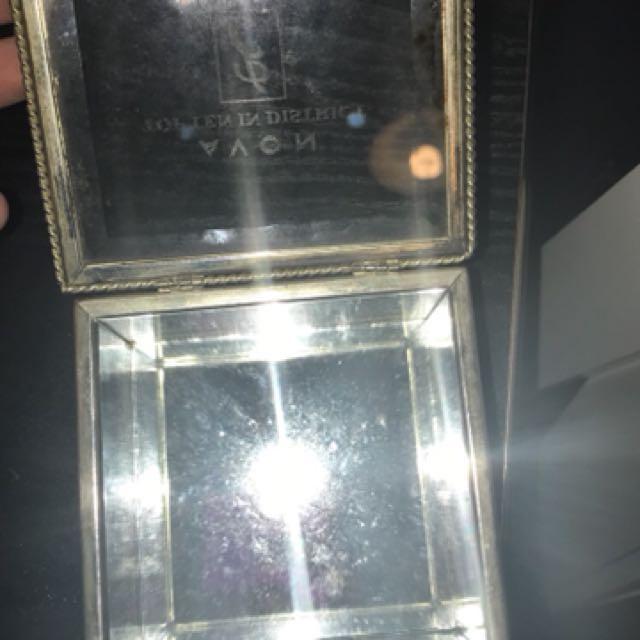 Jewellery box glass