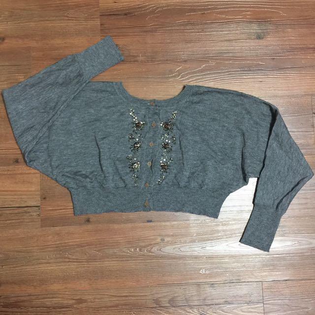 j&nina羊毛針織上衣M