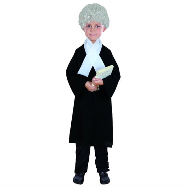 Judge/ Lawyer kids dress up/ costume