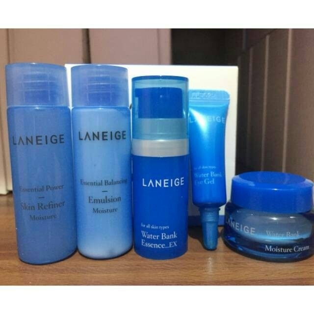 laneige light trial kit+ sleeping mask