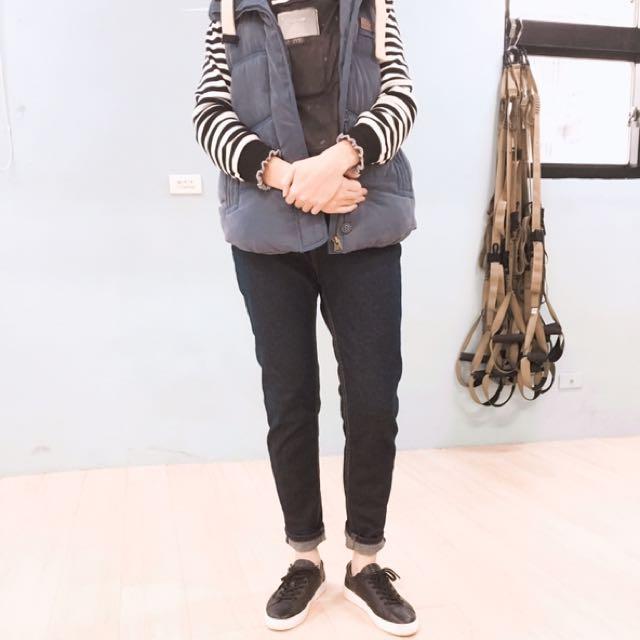 類Levi's 直筒牛仔褲(偏厚款)