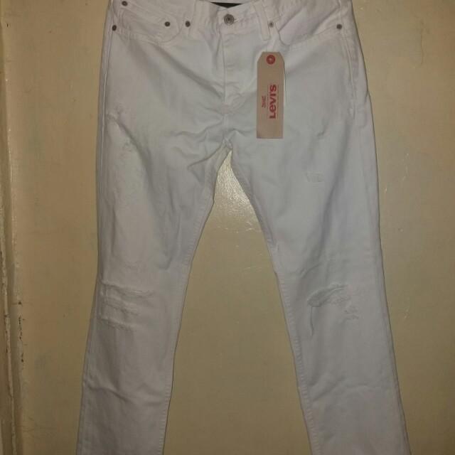 Levis white pants