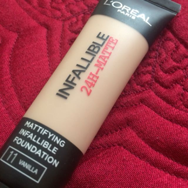 Loreal infallible 24h matte foundation