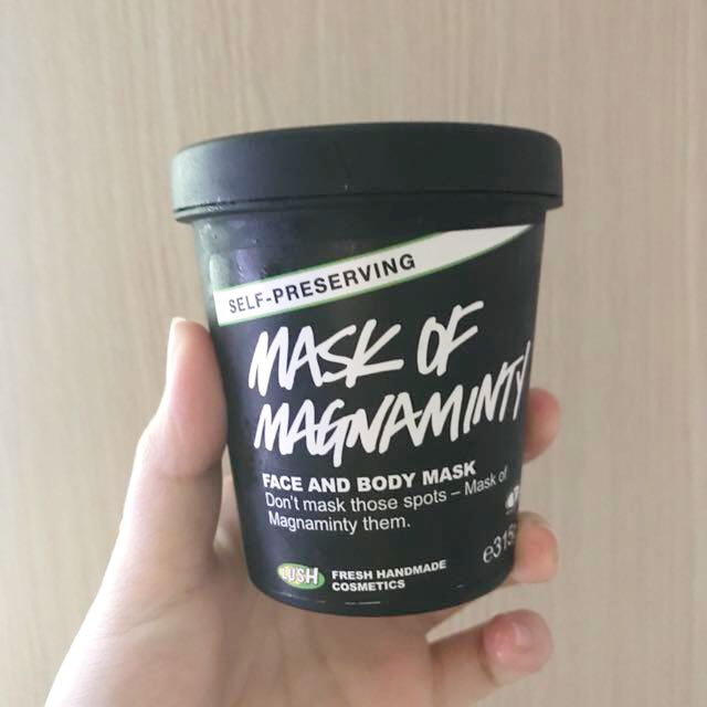 LUSH MASK OF MAGNAMINTY SHARE IN JAR 10gr