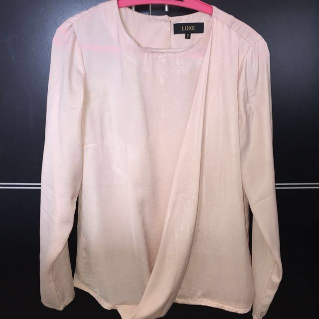 LUXE BLOUSE IN PINK