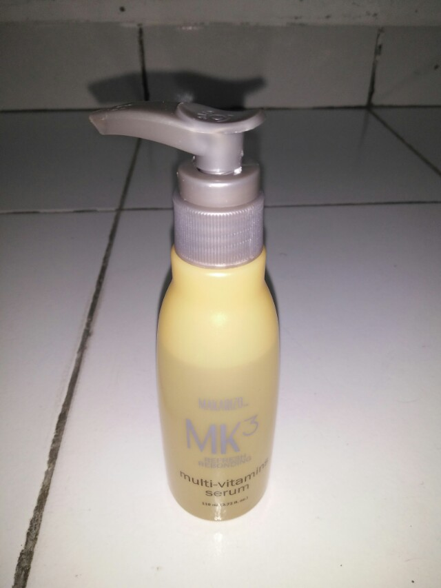 #awaltahun, Makarizo Mk3 refresh rebonding serum, Rp.35.000 (u.p - Rp.70.000), Health & Beauty, Hair Care on Carousell