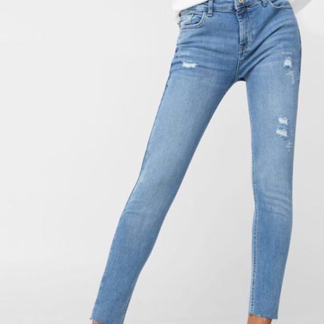 Mango mng Skinny Isa Crop Jeans 👖