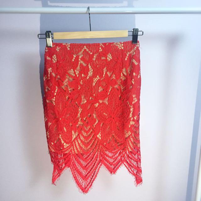 Mendocino For Love + Lemons inspired skirt