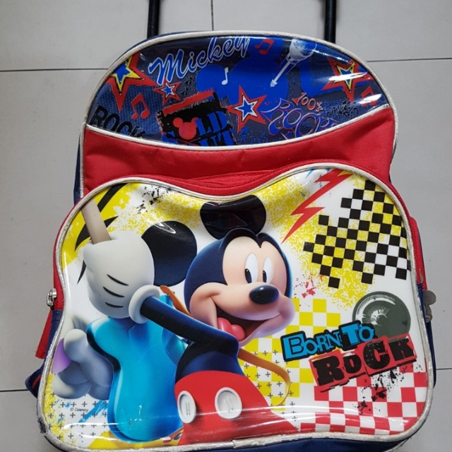 Repriced: Mickey Mouse Trolley Bag