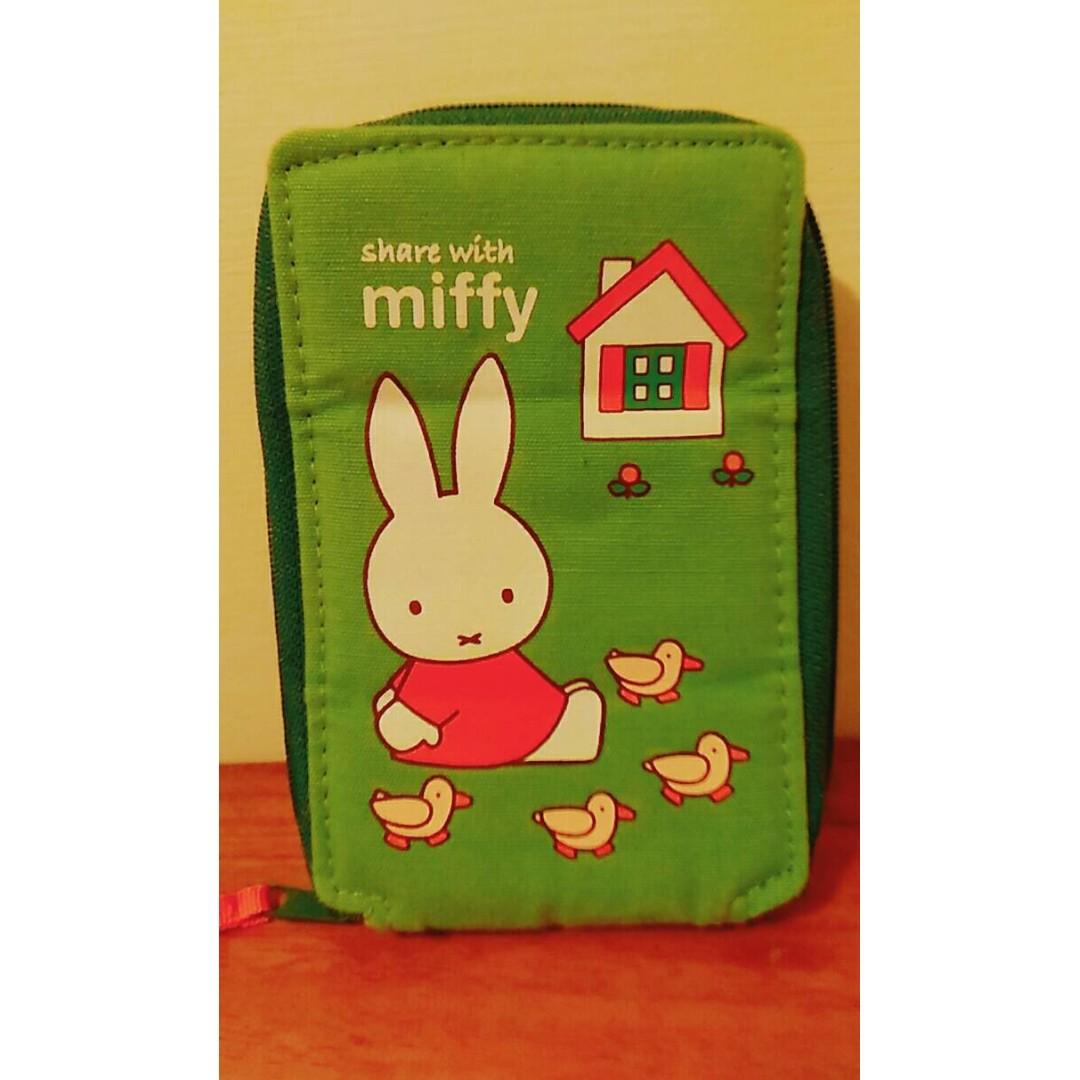 miffy 米飛 小物收納包 可立式手機包