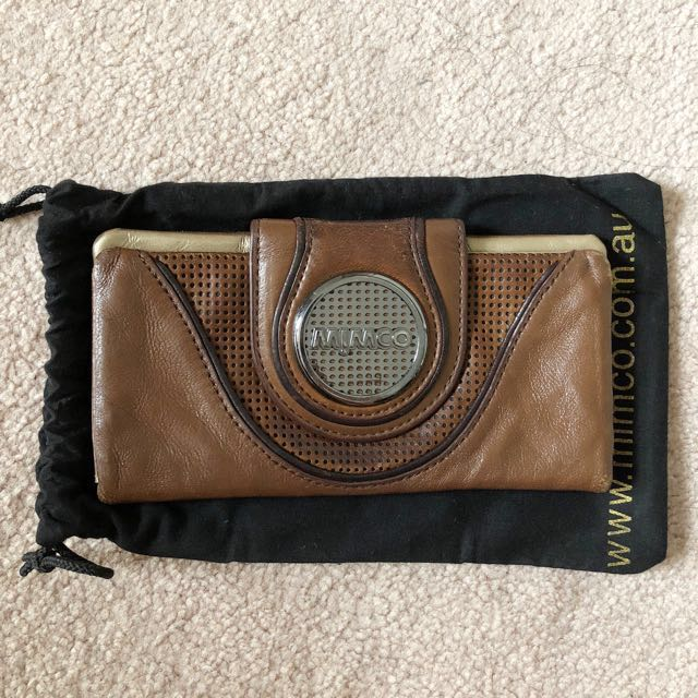 Mimco Dark Brown Wallet