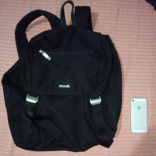 Mook Black Backpack