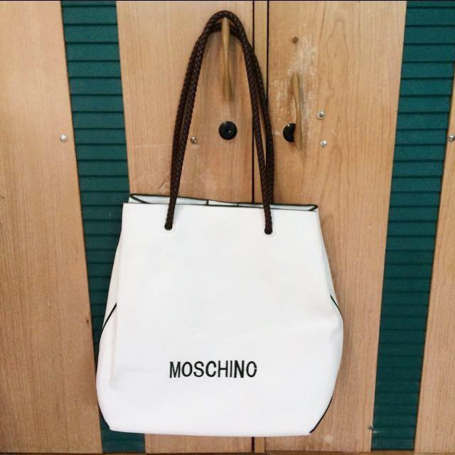 Moschino White Bag