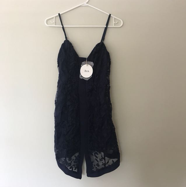 Navy blue Ava dress