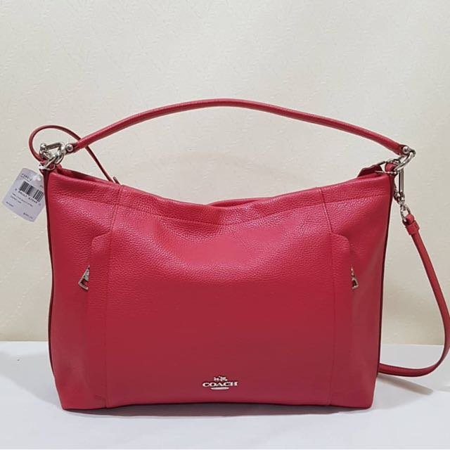 NEW COACH HOBO SCOUT RED