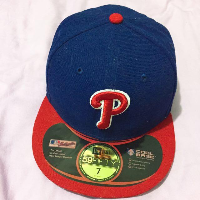 NEW ERA棒球帽  費城人隊 寶藍紅