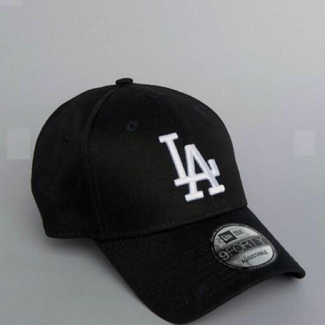 New Era LA 9Forty Cap正品 黑色
