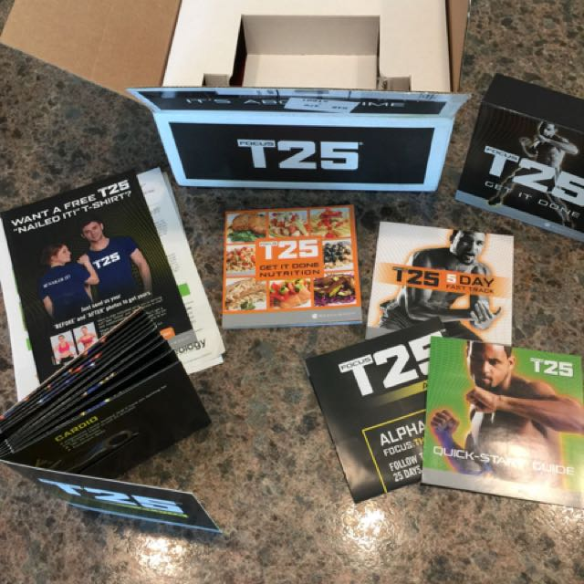 New Shaun T Beachbody T25 with Bands
