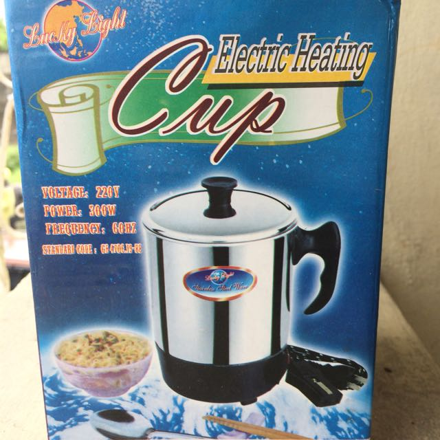 ONHAND!! Electric Heating Cup