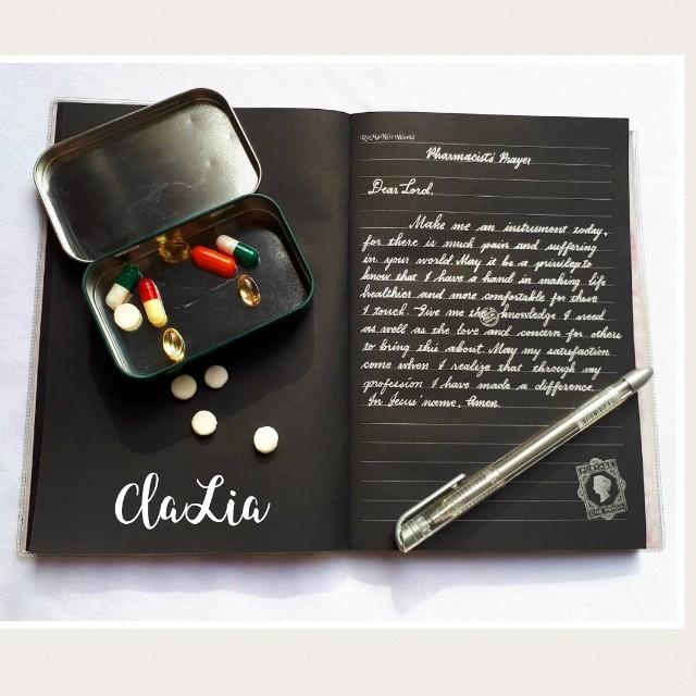 Paris Black Notebook