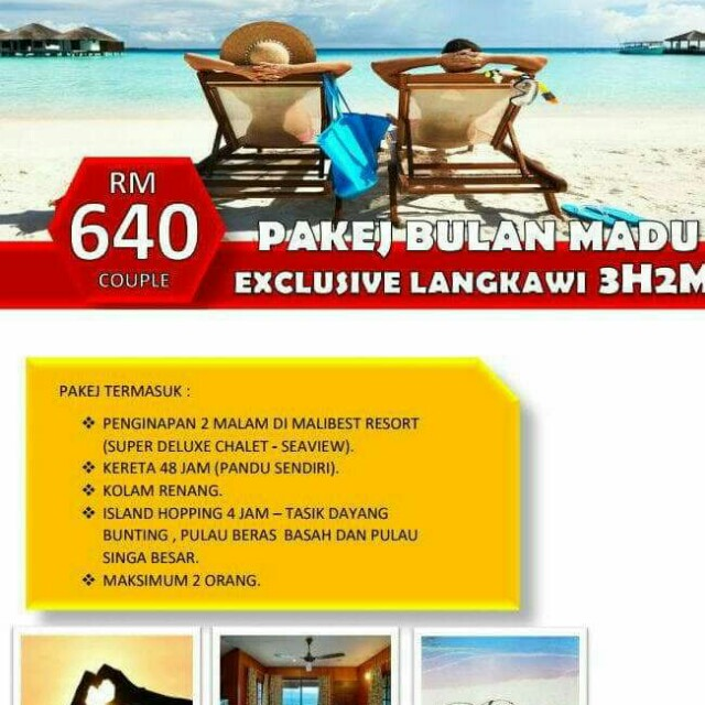 Percutian Bajet Langkawi Tickets Vouchers Attractions Tickets On Carousell