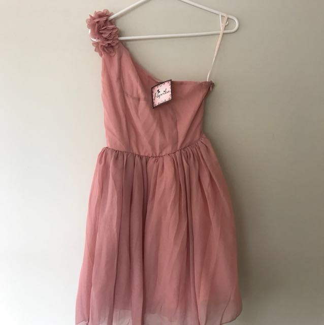 Pink ASOS dress in size 6