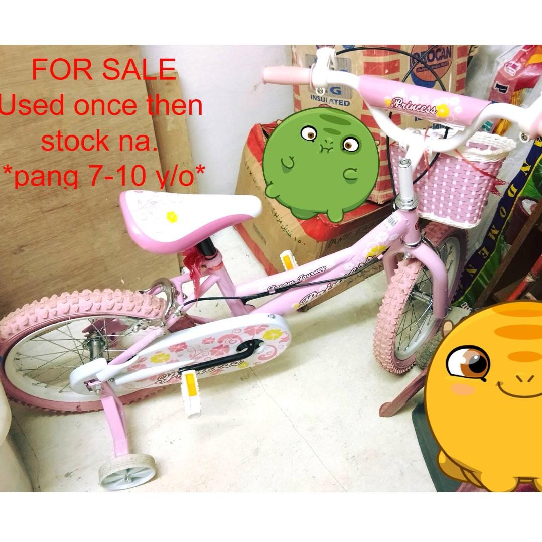 Pink Princess Kid's bike