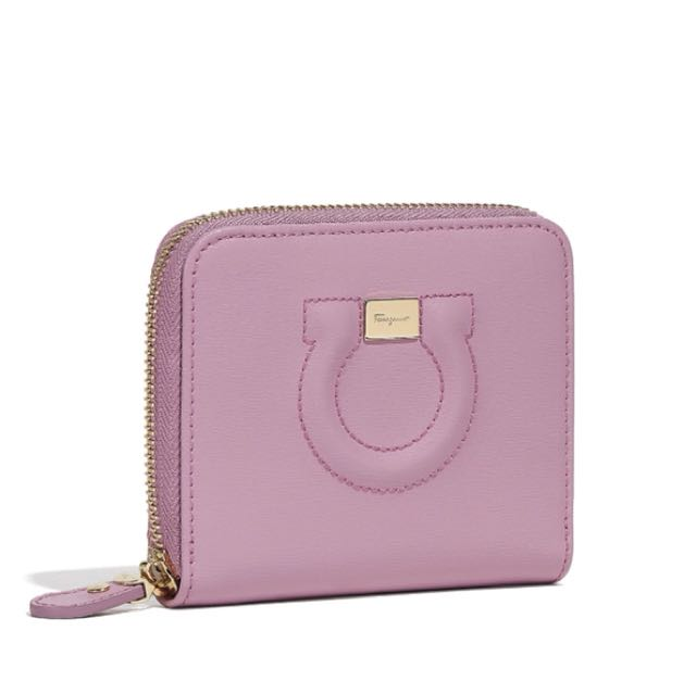 PO! SALVATORE FERRAGAMO SMALL GANCINI WALLET