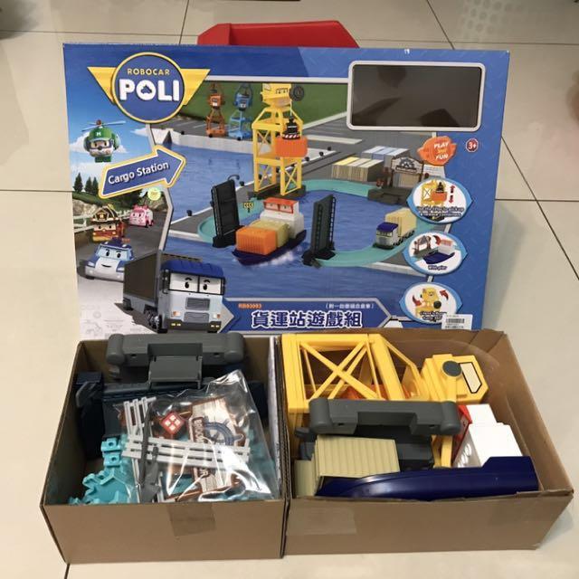 POLI 泰瑞貨櫃站遊戲組(暫不出售)