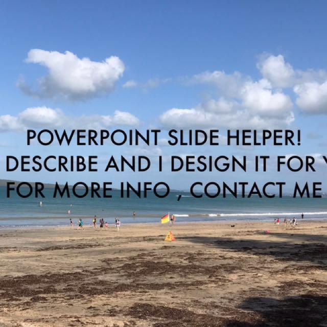 POWERPOINT SLIDE HELPER