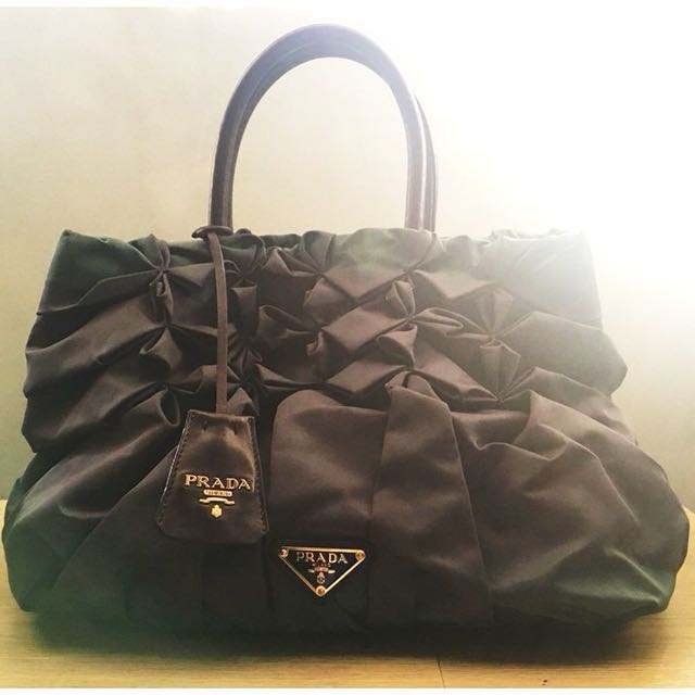 e7a301102e16 ... new style best price prada tessuto nylon origami preloved womens  fashion bags wallets on carousell 4533d