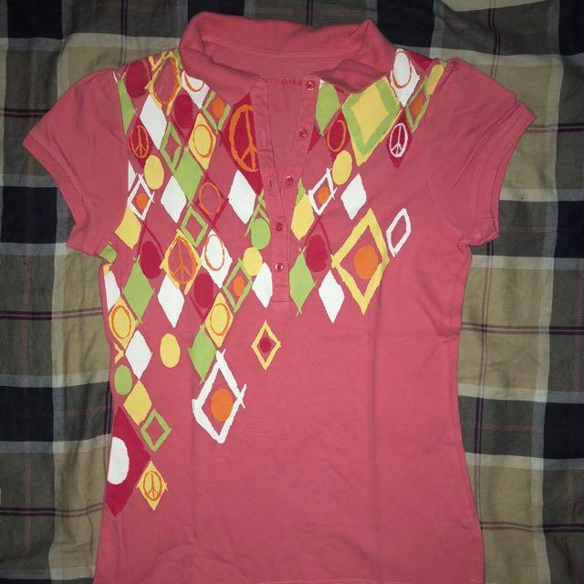 Preloved Arizona Pink Polo Shirt